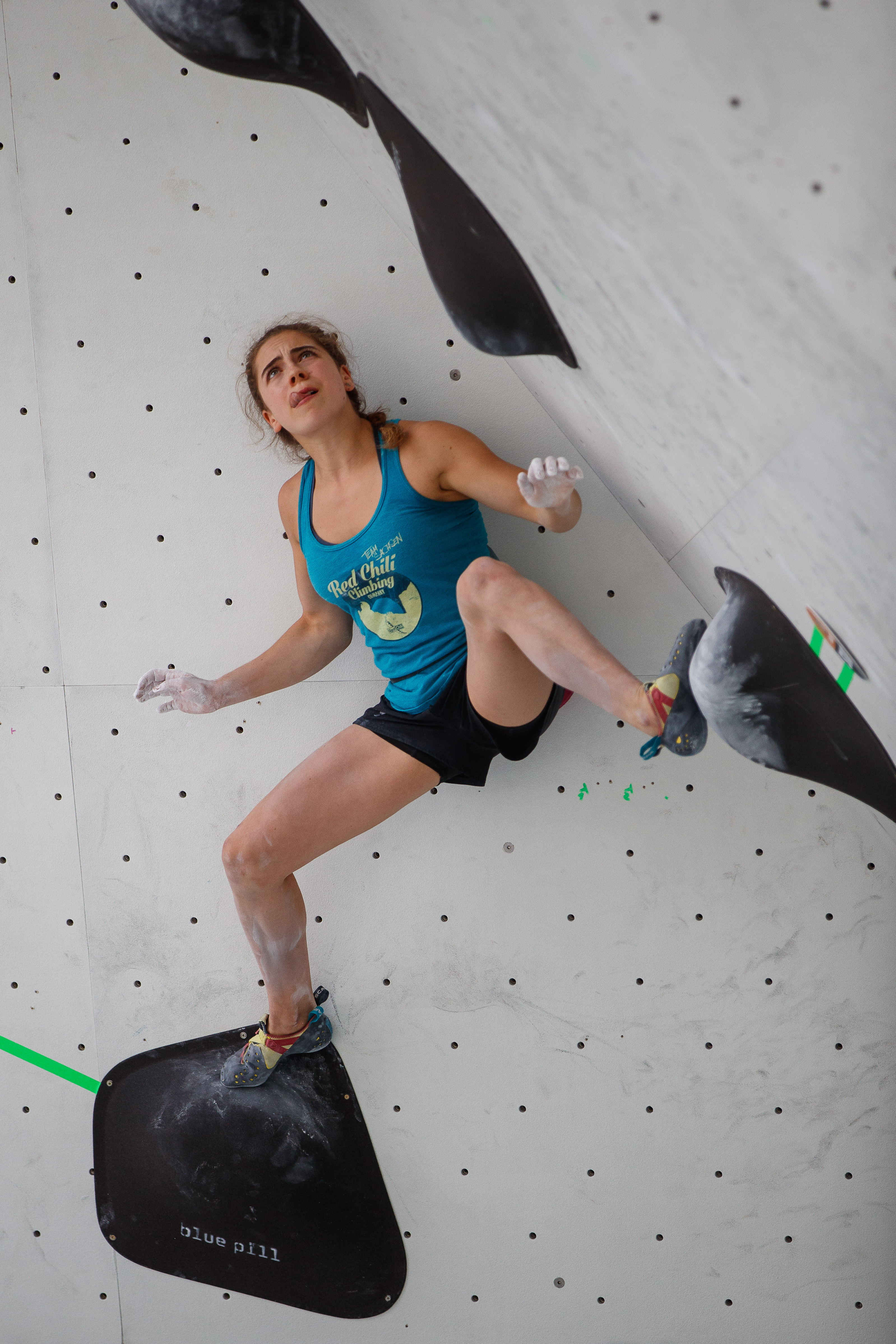 MKO Olympic Combined Augsburg Quaification Bouldern 049 Johanna Holfeld 2018 Copyright Marco Kost HR