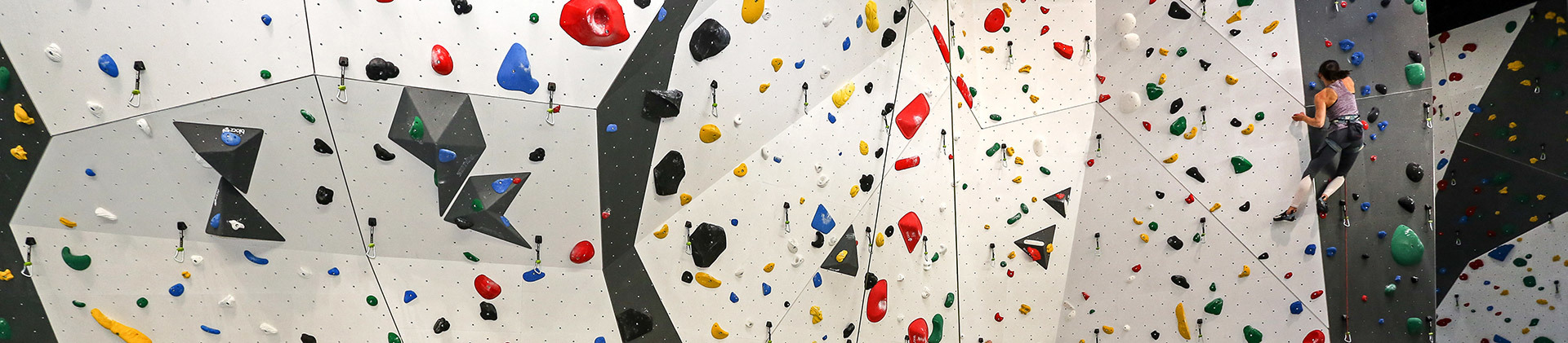 Kletterin-Kletterwand
